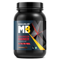 MuscleBlaze High Protein Gainer - Chocolate