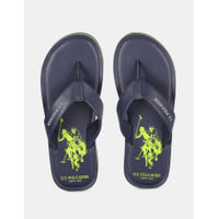 U.S. POLO ASSN. Irling Navy Slippers