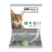 PetCrux Exclusive Scoopable Natural Activated Carbon Cat Litter (Pack Of 1)