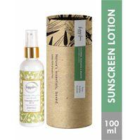 Fizzy Fern Cucumber, Manjistha & Mulethi Sunscreen Lotion SPF 30