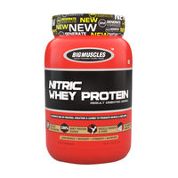 Big Muscles Nutrition Nitric Whey Protein Cafe Latte Powder