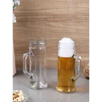 Oberglas Premium Plain Beer Glass Mug Set, 330ml, Set Of 2, Transparent