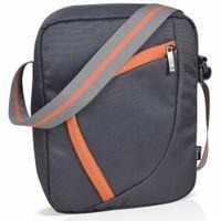 EUME Enzo Cross Body Office Sling Bag for Men & Women (Grey) - Yellow Series