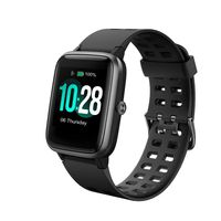 Portronics YOGG Kronos POR-991 Smart Watch- Black, Metal (2-week Battery Life_IP68)
