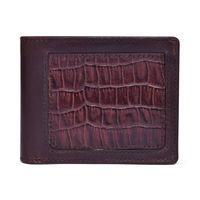 Belwaba Genuine Leather Chocolate Brown Bi-fold Men's Wallet