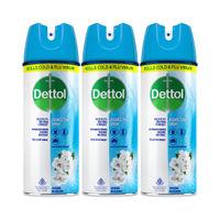 Dettol Spring Blossom Surface Disinfectant Spray Sanitizer - Pack of 3