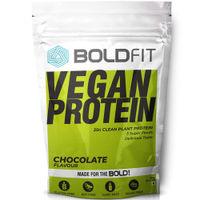 Boldfit Plant Protein Powder For Men & Women - Chocolate Flavor
