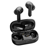 Ambrane Dots-20 In Ear Wireless With Mic Headphones/earphones (black)