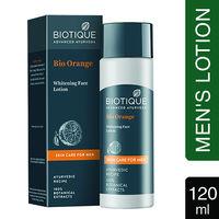Biotique Bio Orange Whitening Face Lotion For Men