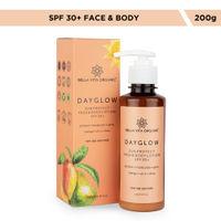 Bella Vita Organic Day Glow Sunprotect SPF 30+ Sunscreen Face & Body Lotion