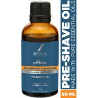 Spruce Shave Club Pre Shave Oil - Cedarwood & Mandarin