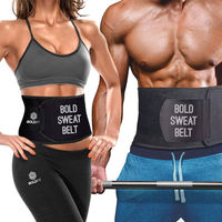 Boldfit Sweat Slim Belt Neoprene Body Shaper And Tummy Trimmer For Men & Women