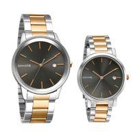 Sonata 71338164KM01 Black Dial Analog Watch For Couple
