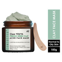CONCOCTED Clear You'th French Green Clay Acne Control Face Mask