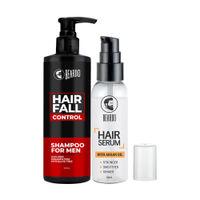 Beardo Daily Hair Regime Combo (Hair Serum & Hair Fall Control Shampoo)