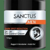 SANCTUS Dark Spot Reduction 24-Hr Oil Control Cream For Men