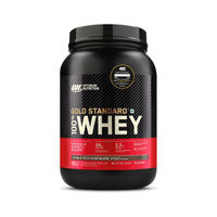 Optimum Nutrition (ON) Gold Standard 100% Whey Protein Powder Double Rich Chocolate - 2Lbs
