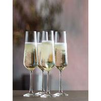 Dartington Cheers Flute Glass (set Of 4)