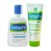 Cetaphil Oily Skin Cleanser & Hydrating Combo For Sensitive Skin