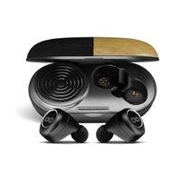 Crossloop GEN TWS Bluetooth Earbuds with 3W Speaker Case (Pine Wood Finish)
