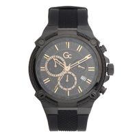 Gc Y24008g2mf Black Dial Watch For Men