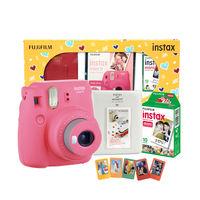Fujifilm Instax Mini 9 Surprise Box Flamingo Pink Camera
