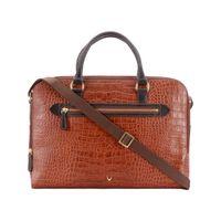 Hidesign Tan Ee Valentina 02 Croco Melbourne Ranch Laptop Bag