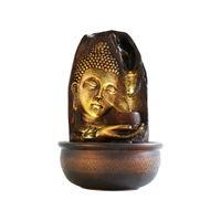 eCraftIndia Lord Buddha And Rounf Textured Water Fountain