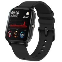 Fire-Boltt Spo2 Full Touch 1.4 Inch Smartwatch 8 Days Battery Ipx7 With Heart Rate, Bp,fitness Black
