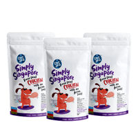 Captain Zack Simply Singapore Freeze-dried Chicken Treats For Dog- Pack Of 3