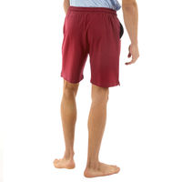 ALMO Fresco Slim Fit Cotton Knitted Shorts - Purple