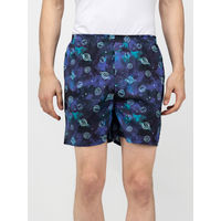 Whats Down Galaxy Boxers - Blue