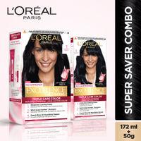 L'Oreal Paris Excellence Creme Hair Color Combo - 1 Black
