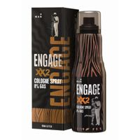 Engage Cologne Spray XX2 For Men, Spicy & Citrus, Skin Friendly