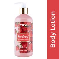 Nykaa Wanderlust Body Lotion - Strawberry Daiquiri
