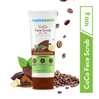 Mamaearth CoCo Face Scrub with Coffee & Cocoa for Rich Exfoliation