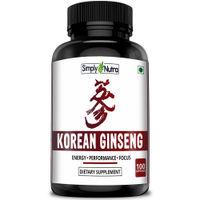 Simply Nutra Korean Ginseng 100 Capsules