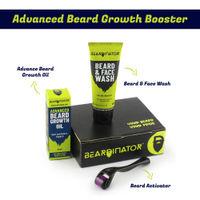 Beardinator 3 Step Advanced Beard Growth Kit