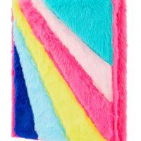 Accessorize Rainbow Fluffy Notebook