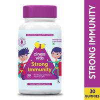 Zingavita Strong Immunity Multivitamin Gummies for kids (With Elderberry & Blueberry)