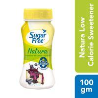 Sugarfree Natura Low Calorie Sweetner Jar