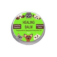 Zoivane Pets 3-In-One Healing Balm, Spearmint And Peppermint Essential Oil- for Cats and Dogs