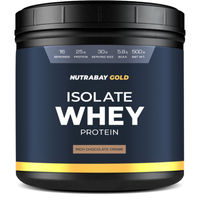 Nutrabay Gold 100% Whey Protein Isolate - Rich Chocolate Creme