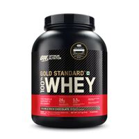 Optimum Nutrition (ON) Gold Standard 100% Whey Protein Powder Double Rich Chocolate - 5Lbs