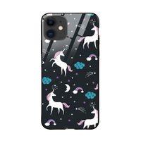 ToCloset Fantasy Unicorns Iphone 12 Glass Case Cover
