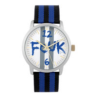FCUK Silver Dial Analog Watches For Men - FK0001B