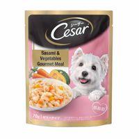 Cesar Premium Adult Wet Dog Food (Gourmet Meal) - Sasami & Vegetables