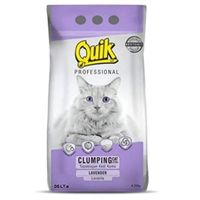 PetCrux Quik Exclusive Scoopable Smart Bentonite Cat Litter From Turkey (Lavender) - Pack Of 1