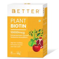 BBETTER Plant Biotin 10000mcg Powder Sachets
