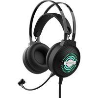 Zebronics Zeb-iron Head Premium Over-ear Gaming Headphone With Mic, Dual 3.5mm Connectors
